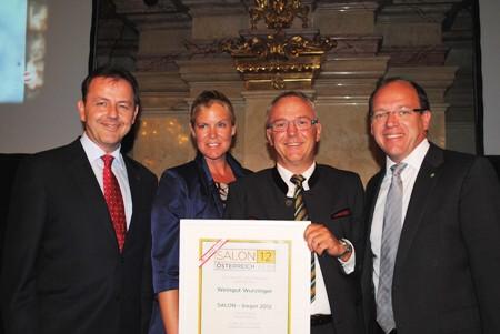Weingut Wurzinger Salon Sieger 2012